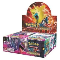 Pokemon Força Fantasma Caixa 36x5=180 Cartinhas Lacrado