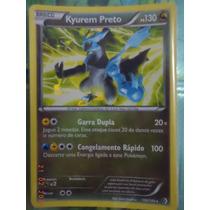 Pokemon Kyurem Preto Fronteiras Cruzadas 100/149 Portugues