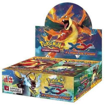 Caixa Booster De Pokémon Xy Flash De Fogo Em Portugês