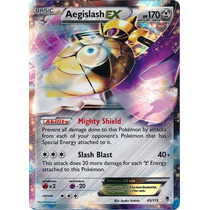 Carta Pokemon Aegislash Ex Xy Phantom Forces Inglês