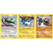 Pokémon Especial Trio Tornadus, Thundurus E Landorus