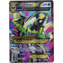 Carta Pokemon Primal Kyogre Ex Full Art Primal Clash Inglês