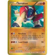 Carta Pokemon Terrakion Shiny Secret Rare (inglês)