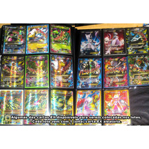 Lote De 50 Cartas Pokémon, Com 1 Ex E 6 Cartas Raras