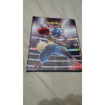Pasta Fichário Pokemon Xy3 Ou Xy4 - Ultrapro 10 Pag,9 Folhas