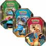 3 Latas Pokémon Power Trio Charizard-ex Blastoise Venusaur