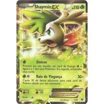 Pokemon Carta Shaymin Ex Holo Raro Proximos Destinos 5/99