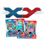 2 Blisters Pokémon Xy 6 Booster + Cartas Gyarados + Gallade