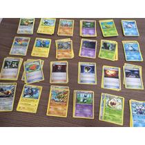 Lote De 30 Cartas Pokémon - Flash De Fogo. Evoluções E Raras
