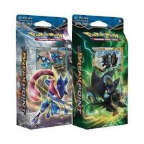 2 Decks De Pokémon Xy 9 Luxray E Greninja Em Português