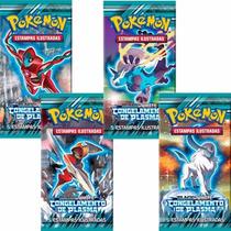12 Booster Cards Pokémon Bw Congelamento De Plasma Original