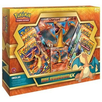 Box Charizard Ex Pokémon Booster Carta Gigante Original