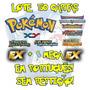 Lote 50 Cartas Pokémon X Y Em Português Ex E Mega Garantidas