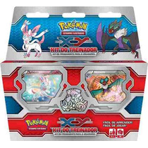 Kit Do Treinador Pokémon Xy Sylveon Noivem Deck Cards