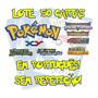 Lote 50 Cartas Pokémon X Y Em Português (10 Raras +1 Holo)