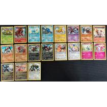 Lote 19 Cartas Pokémon Lendários X Y Raras Holográficas