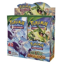 Pokemon Xycéus Estrondoso Caixa 36x5=180 Cartinhas Lacrado