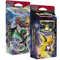 2 Decks Cards Pokémon Xy Turbo Revolução Raichu Noivern