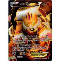 Carta Pokemon Landorus Ex Full Art 144/149 Front. Cruzadas