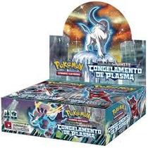 Caixa De Pokémon Congelamento De Plasma Portugês