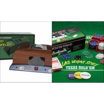 Poker Combo 200 Fichas + Embaralhador
