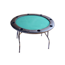 Mesa De Poker Redonda Desmontável Reforçada