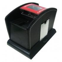 Embaralhador Automático A Pilha Couro Modelo Luxo