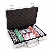 Maleta De Poker 200 Fichas Pronta Entrega.