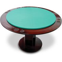 Mesa Poker Carteado Baralho Pro 8 Pessoas Oficial Klopf 1077