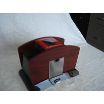 Embaralhador Automático Madeira Modelo Luxo