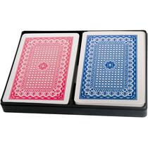 Jogo De Baralho Plástico Lavável Poker 2 Jogos Frete Grátis
