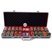 Maleta De Poker 500 Fichas Monte Carlo Millions 14 Gms