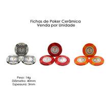 Fichas De Poker Cerâmica Venda Por Unidade
