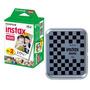 Filme Fujifilm Instax Pack Com 20 Unidades + Caixa P/ Fotos