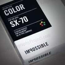 Filme Polaroid Sx70 Colorido By Impossible - Frete Gratis