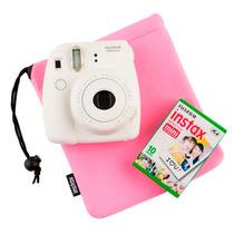 Filme Fujifilm Instax Pack Com 20 Unidades + Bolsa Rosa