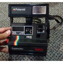 Máquina Fotográfica Polaroide 635 Com Bolsa Original