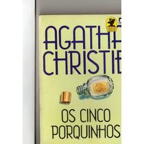 Livro Agatha Christie / Os Cinco Porquinhos / Editora Record