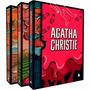 Box Coleção Ágatha Christie Luxo 2 - Capa Dura (3 Livros) !