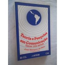 Livro - Teoria E Pesquisa Em Comunicação - Politica
