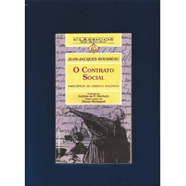 Livro O Contrato Social - Jean-jacques Rousseau - Fj.jr