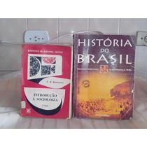Livros Antigos História E Sociologia