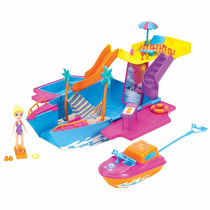 Polly Pocket Iate Festa Tropical 2 Em 1 - Mattel Y6717
