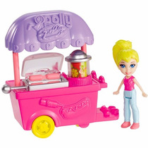 Polly Pocket - Veículos Pollyville City Cbj15