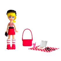Boneca Polly Pocket Piquenique Da Polly Mattel Bebe Store