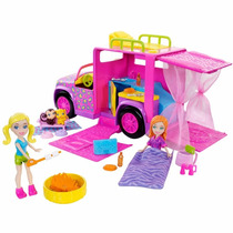 Polly Pocket Trailer Safari - Mattel W6227