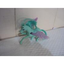 Boneco Cavalo Pôney Com Asas Cor Azul Da Polly