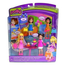 Polly Pocket Conjunto C/ 4 Bonecas Festa Do Cupcake ¿ Mattel