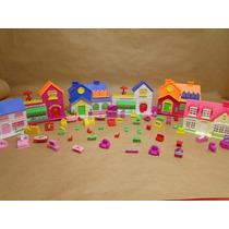 06 Casas De Bonecas Com Muitos Itens