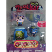 Zoobles Coldrich 336 Tusty 337 Acessorios Spring To Life